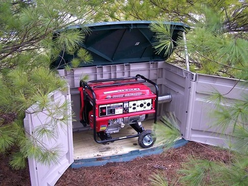 DIY Soundproof Generator Box –
