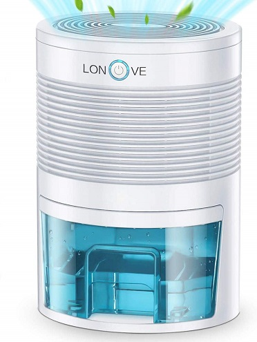 LONOVE Cubic Feet Portable Dehumidifier