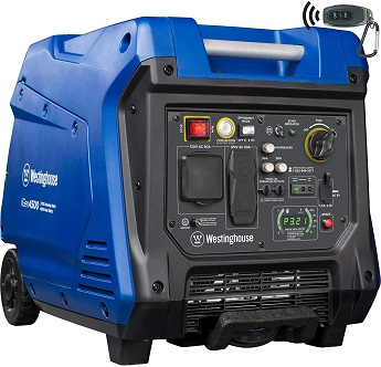 Westinghouse iGen4500 Super Quiet Portable Inverter Generator 3700 Rated