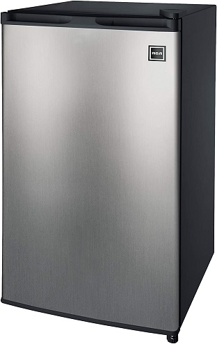 RCA RFR322-B 3.2 Cu Ft Single Door Mini Fridge